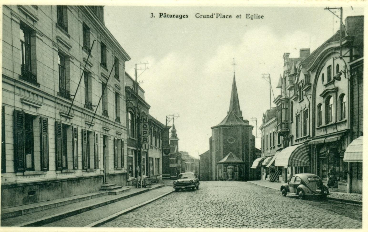 Place de Pâturages