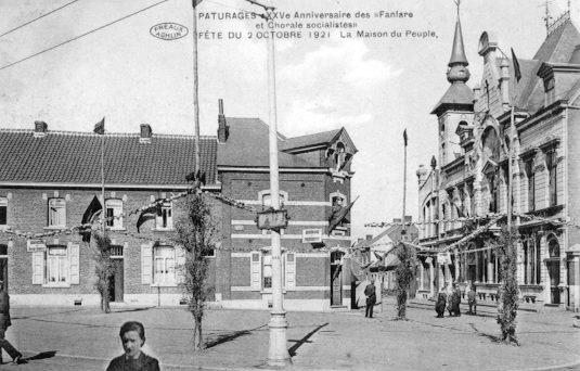Place, maison, rue du Peuple de Pâturages (18)