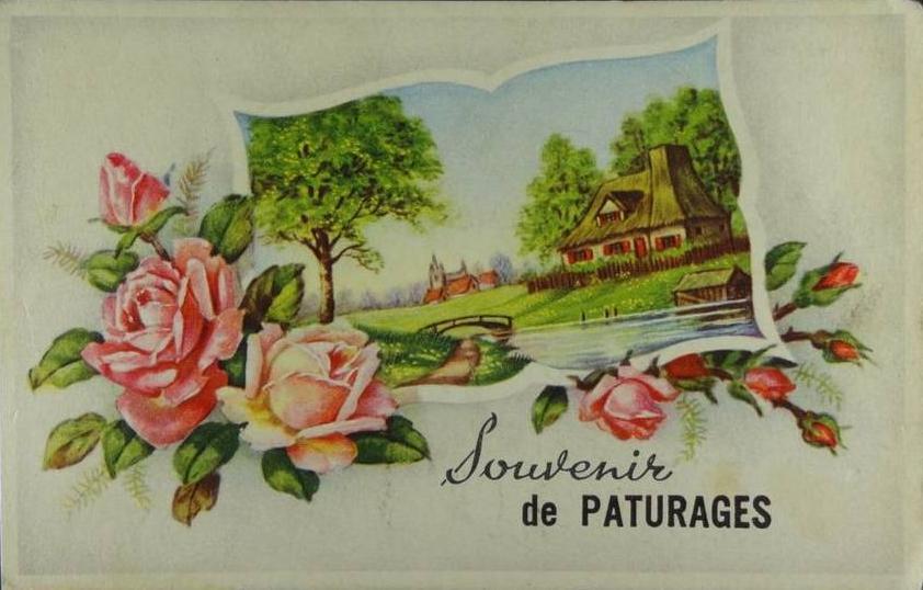 Cartes souvenirs de Pâturages (19)