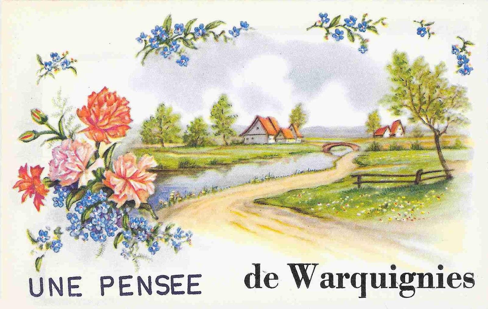 Cartes souvenirs de Warquignies (2)