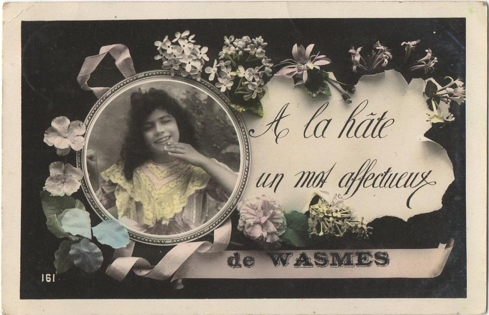 Cartes souvenirs de Wasmes