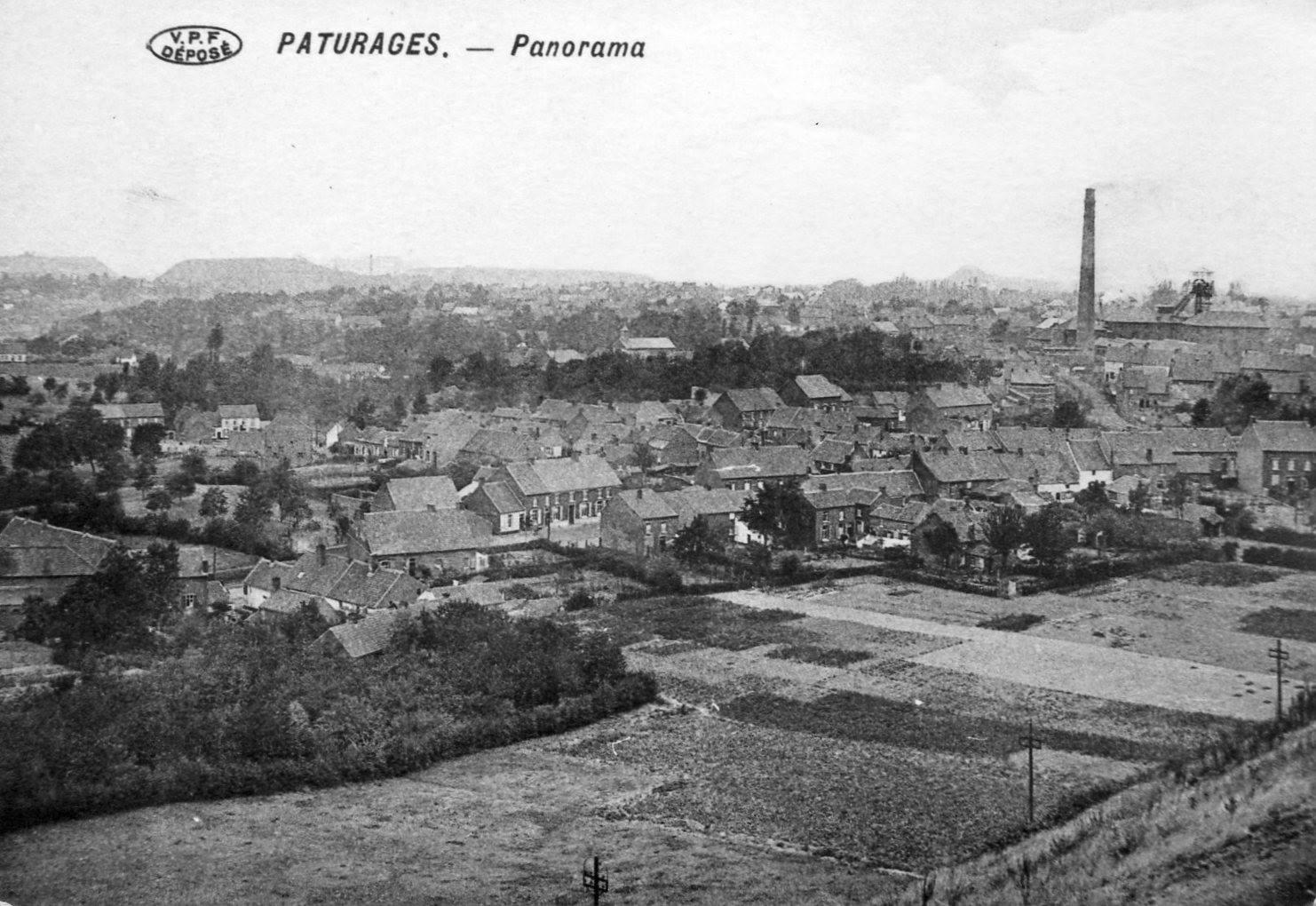 Panorama de Pâturages